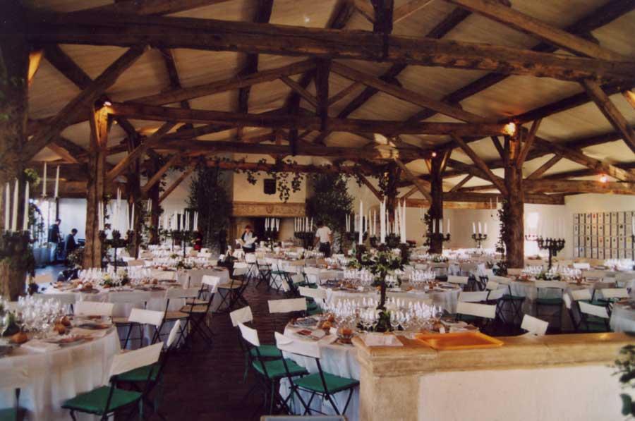 Souvent Ateliers Ortega :Salle du dîner au château Smith Haut Lafitte BB29